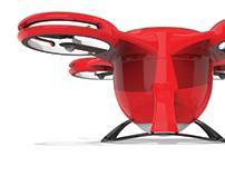 Drone for emergency organ transport