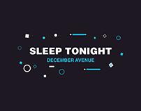 December Avenue's Sleep Tonight (Kinetic Typography)