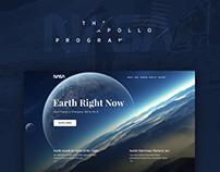 NASA Concept Web Design
