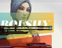 A Lady Must ... – Borderlands 2 Poster Design