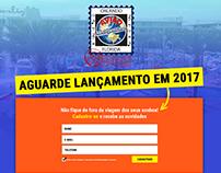 Landing page Avião Metropolitana