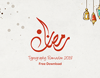 TypographyRamadan Free Download