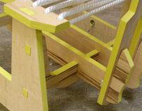 plywoo phlat chair