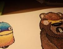 Ruckslack and Beaver.