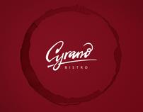 Cyrano Bistro / Branding