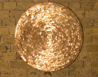 Sequin Circular  Canvas