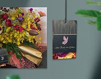 Hangtag com Foil - Florista