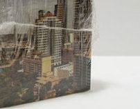 Austin Chamber Post-It Note Cube