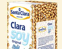 Santa Clara Soy Milk Package