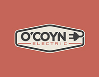 O'coyne Electric Logo Design