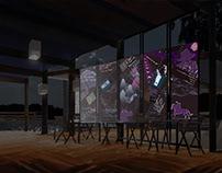 "Проект летнего кинотеатра-кафе ""Место Кино"". Строгино"
