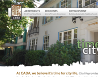 CADA Website Design