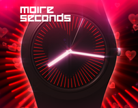 Moire Seconds