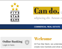 Five Star Bank Website