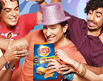 Lay's Party Packs ,TVC & print