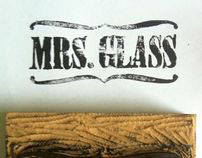 Mrs. Glass Stamp