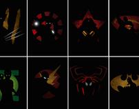 Super Heroes Shadows