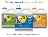 Purina® Tidy Cats® Premium Litter Updates