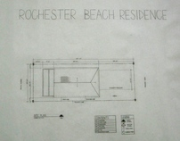 Rochester Residence: Hand Drafts