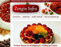 Zengin Sofra - Web Portal (2010)