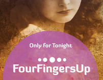 FourFingersUp - gig posters