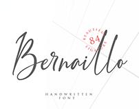 Bernaillo | Handwritten font