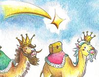 Els tres Reis Mags d'Orient !