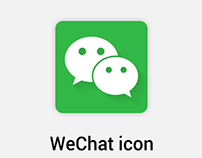 WeChat Material icon