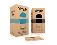 Logo and packaging design for Simplr Coffee Cup / UK