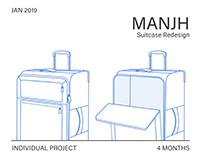 Manjh: Suitcase Redesign