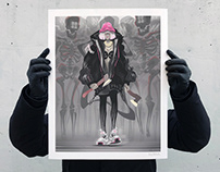 "NEW PRINT RELEASE ""Fashion killa"""