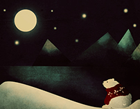 polar lullaby, digital painting