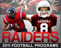 2011 Markham Minor Football Raiders Program