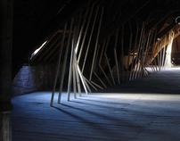 (Be) 2007 - Master iA - Installation on attic monastery