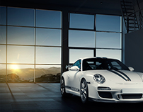 Porsche GT3 Automotive Photography and Retouching