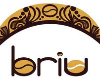 Briu Gourmet Coffee Package Design