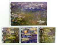 Nelson-Atkins Claude Monet Water Lilies Sketchbooks