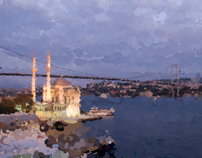Painting Istanbul digitally
