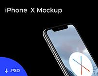 iPhone X Template Mockup [PSD]
