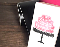 Party Without Cake Stamp