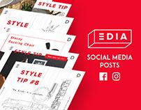 EDIA Home Social Media Posts