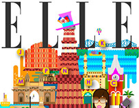 ELLE hip city guide for playclan