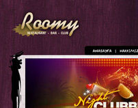 Roomy Bar Website