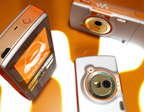 SONY ERICSSON // Phone Visual