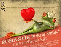 Romantik Prens, Facebook App Landing Page