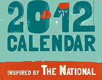 the 2012 calendar - inspired by the National