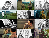 Deadline - short film Storyboards
