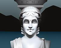 Visit Rome - Destination Poster