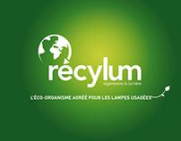 RECYLUM - communication de la marque