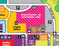 Eumundi Markets Map